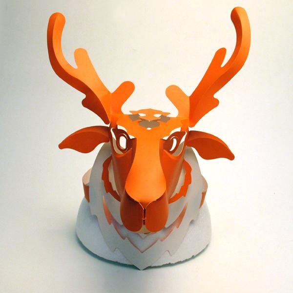 梅花鹿頭套 1