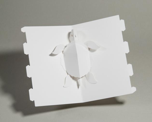 立體書創作百頁卡/The Pop-Up BaseCard Package 4